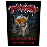 Tankard - Die With A Beer In Your Hand (Backpatch)