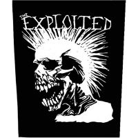 Exploited - White Skull (Backpatch)