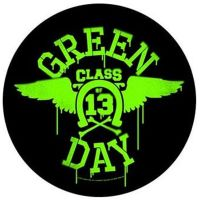 Green Day - Neon Wings (Backpatch)