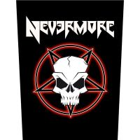 Nevermore - Tribal Skull (Backpatch)