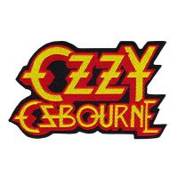 Ozzy Osbourne - Shaped Logo (Patch)