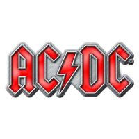 ACDC - Red Logo (Metal Pin Badge)
