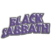 Black Sabbath - Purple Logo (Metal Pin Badge)