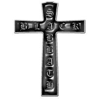 Black Sabbath - Cross (Metal Pin Badge)