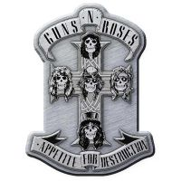 Guns N Roses - Appetite (Metal Pin Badge)