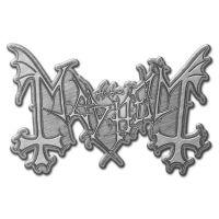 Mayhem - Logo (Metal Pin Badge)