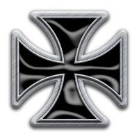 Iron Cross (Metal Pin Badge)