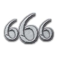 666 (Metal Pin Badge)
