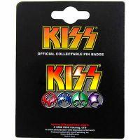Kiss - Icons (Metal Pin Badge)