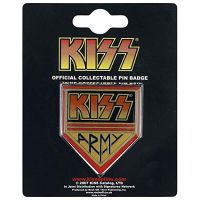 Kiss - Army (Metal Pin Badge)