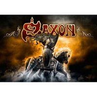 Saxon - Heavy Metal Thunder (Textile Poster)