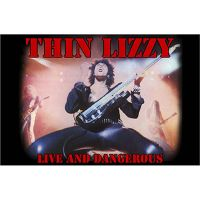 Thin Lizzy - Live And Dangerous (Textile Poster)
