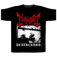 Mayhem - Deathcrush Black (T-Shirt)
