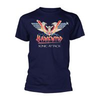 Hawkwind - Sonic Attack Blue (T-Shirt)