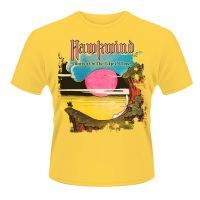 Hawkwind - Warrior On The Edge Yellow (T-Shirt)