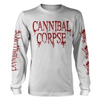 Cannibal Corpse - Butchered At Birth White (Long Sleeve T-Shirt)