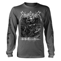 Emperor - In The Nightside Eclipse B&W (Long Sleeve T-Shirt)