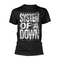 System Of A Down - Distressed Logo (T-Shirt)