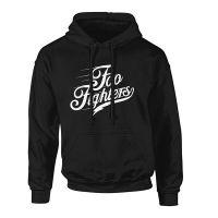 Foo Fighters - Logo Text (Hooded Sweatshirt)