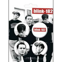 Blink 182 - Large Badges (Badge Pack)