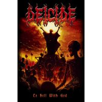 Deicide - To Hell With God (Textile Poster)