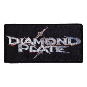 Diamond Plate - Logo (Patch)