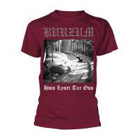 Burzum - Hvis Lyset Tar Oss Maroon (T-Shirt)