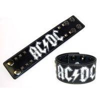 ACDC - Logo (Leather Wristband)