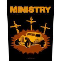 Ministry - Jesus Built My Hotrod (Backpatch)