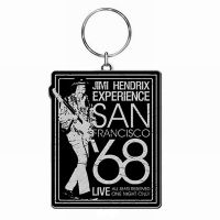 Hendrix, Jimi - San Francisco '68 (Keyring)