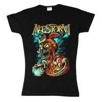 Alestorm - Get Drunk Or Die (Girls T-Shirt)