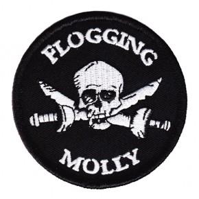 Flogging Molly - Skull & Cross Swords (Patch)