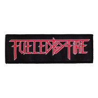 Fuelled By Fire - Logo (Superstrip Patch)