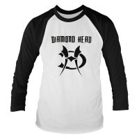 Diamond Head - Logo (3/4 Sleeve Baseball Shirt)