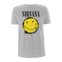 Nirvana - Smiley Splat (T-Shirt)