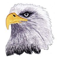 Eagle Head Embroidered (Patch)