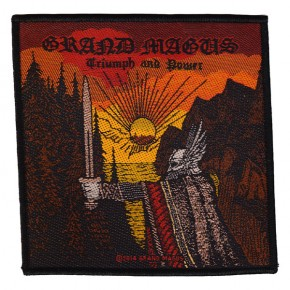 Grand Magus - Triumph And Power (Patch)
