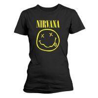 Nirvana - Smiley Logo (Girls T-Shirt)