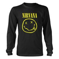 Nirvana - Smiley Logo (Long Sleeve T-Shirt)