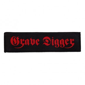 Grave Digger - Red Logo (Superstrip Patch)