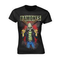 Ramones - Gabba Gabba Hey Pinhead (Girls T-Shirt)