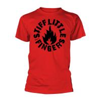 Stiff Little Fingers - Punk Red (T-Shirt)