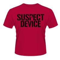 Stiff Little Fingers - Suspect Device Red (T-Shirt)