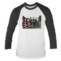 Stray Cats - Band Photo (Long Sleeve Baseball Shirt)