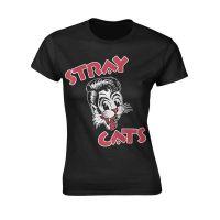 Stray Cats - Cat Logo (Girls T-Shirt)