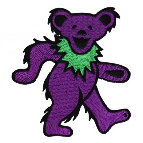 Grateful Dead - Dancing Bear Embroidered (Patch)