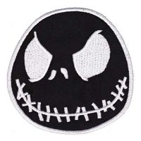 Nightmare Before Christmas Black Jack (Patch)