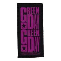 Green Day - Purple Logo (Patch)