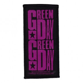 Green Day - Purple Logo (Patch)