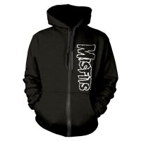 Misfits - Skull (Zipped Hooded Sweatshirt)